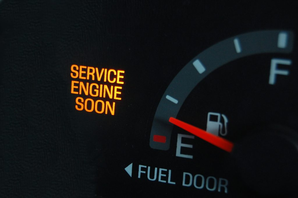 It's An Emissions Problem if My Check Engine Light Comes On Right