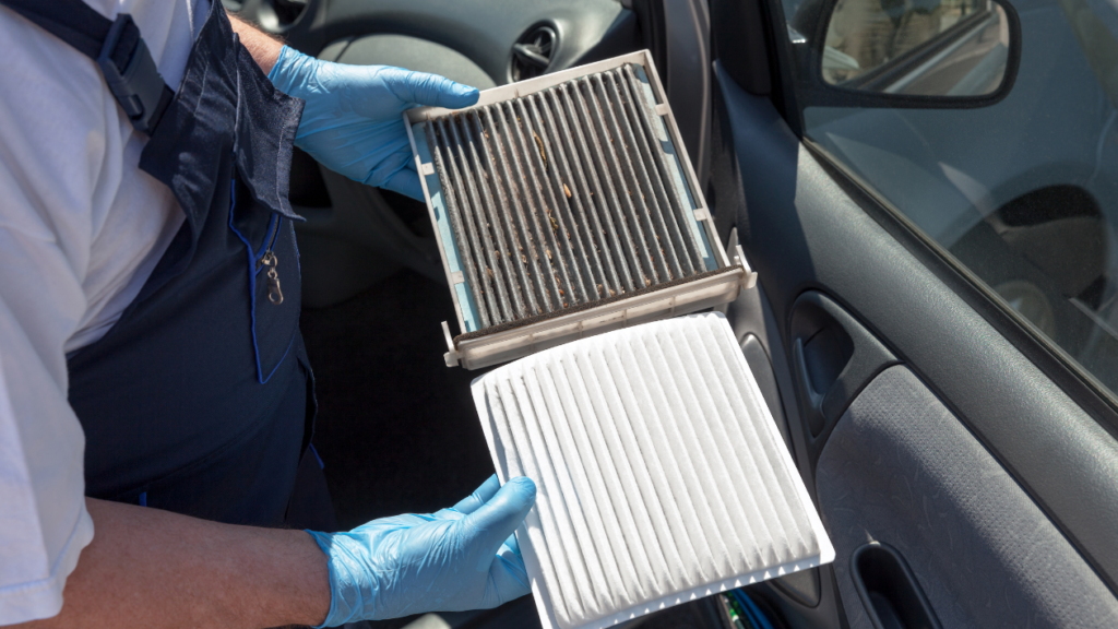 air filter is clogged